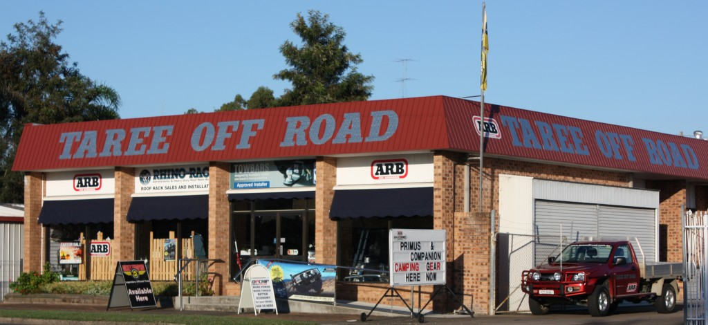 Taree Off Road Updated Shop Front